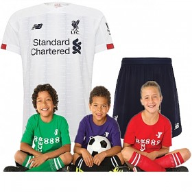 Kid's Liverpool Away Suit 19/20(Customizable)