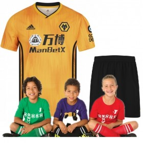 Kid's Wanderers Home Suit 19/20 (Customizable)