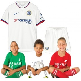 Kid's Chelsea Away Suit 19/20 (Customizable)