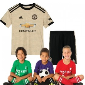 Kid's Manchester United Away Suit 19/20 (Customizable)