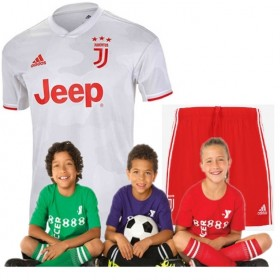 Kid's Juventus Away Suit 19/20 (Customizable)