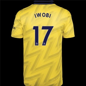 Arsenal Away Jersey 19/20 17#Iwobi