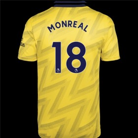 Arsenal Away Jersey 19/20 18#Monrea