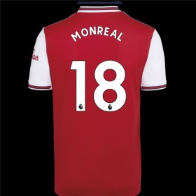 Arsenal Home Jersey 19/20 18#Monreal