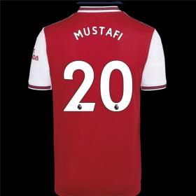 Arsenal Home Jersey 19/20 20#Mustafi