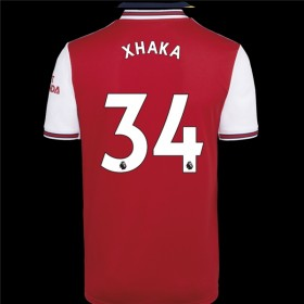 Arsenal Home Jersey 19/20 34#Xhaka