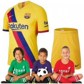 Kid's Barcelona Away Suit 19/20 (Customizable)