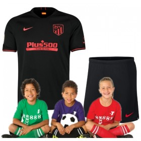 Kid's  Atletico Madrid Away Suit 19/20 (Customizable)