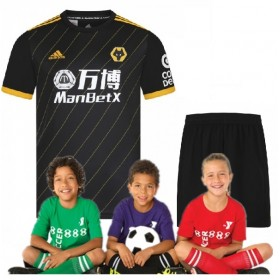 kid's Wanderers Away Jersey  19/20 (Customizable)