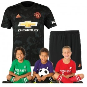 Kid's Manchester United Third suit 19/20 (Customizable)