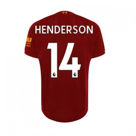 Liverpool home Jersey 19/20 14#Henderson