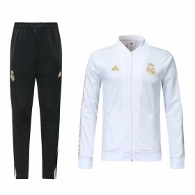 19/20 Real Madrid Training Suit White