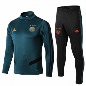 19/20 Ajax Training Suit green With black trousers
