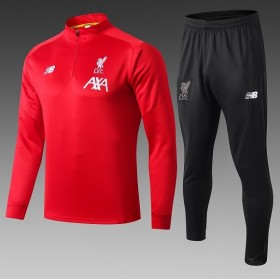 19/20 Liverpool Training Suit  red With black trousers