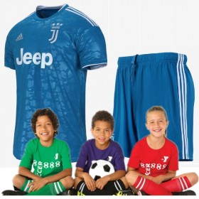 Kid's Juventus Third Suit 19/20 (Customizable)