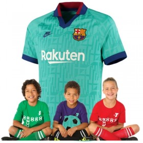 Kid's Barcelona Third Suit 19/20 (Customizable)