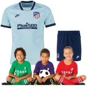 Kid's  Atletico Madrid Third Suit 19/20 (Customizable)