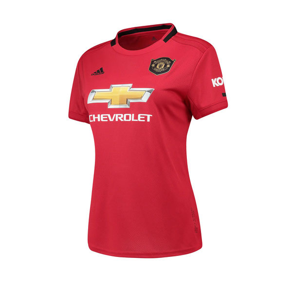 Manchester United Women's Home Jersey 19/20 (Customizable)