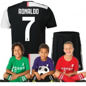 Kid's Juventus Home Suit 19/20 7#RONALDO