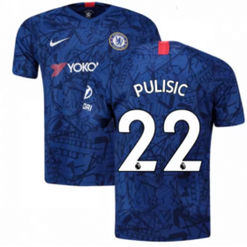 Chelsea Home Jersey 19/20 # 22 Christian Pulisic