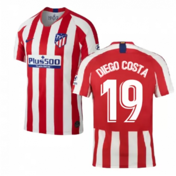 Atletico Madrid Home Jersey 19 20 19 Diego Costa