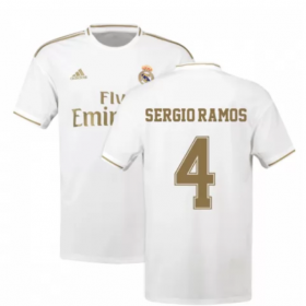Real Madrid Home Jersey 19/20 # 4 Ramos