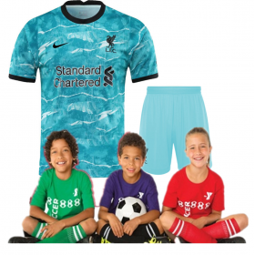 Kid's Liverpool Away Suit 20/21(Customizable)