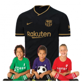 Kid's Barcelona Away Suit 20/21(Customizable)
