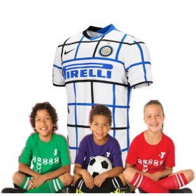 Kid's Inter Milan Away Suit 20/21 (Customizable)