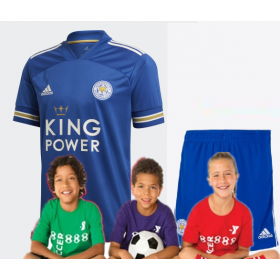 kid's Leicester City Home Jersey 20/21 (Customizable)