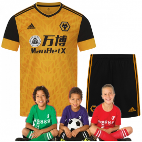 Kid's Wanderers Home Suit 20/21 (Customizable)