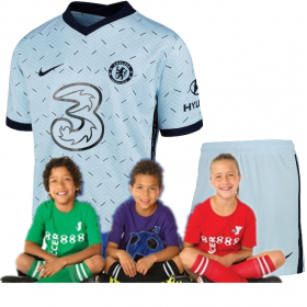 Kid's Chelsea Away Suit 20/21 (Customizable)