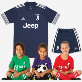 Kid's Juventus Away Suit 20/21 (Customizable)