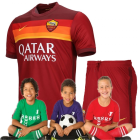 Kid's AS Roma Home Suit 20/21 (Customizable)
