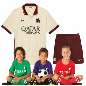 Kid's AS Roma Away Suit 20/21 (Customizable)