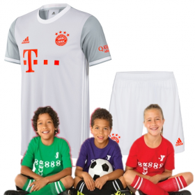 Kid's Bayern Munich Away Suit 20-21 (Customizable)