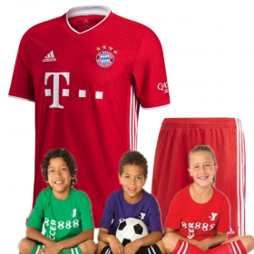 Kid's Bayern Munich Home Suit 20/21 (Customizable)