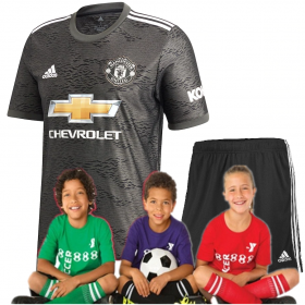 Kid's Manchester United Away suit 20/21 (Customizable)
