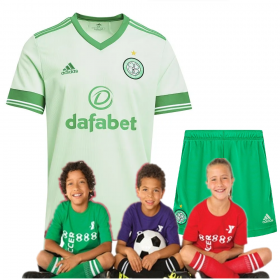Kid's Celtic Away Suit 20/21 (Customizable)