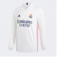 Real Madrid Home Long sleeve Jersey 20/21 (Customizable)
