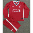 Kid's Liverpool Home Long sleeve Suit 20/21(Customizable)