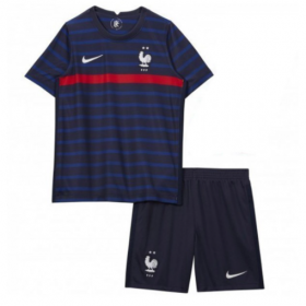 Kid's Euro Cup France Home Jersey 20/21 (Customizable)