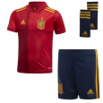 Kid's 2020 Euro Cup Spain Home Suit (Customizable)