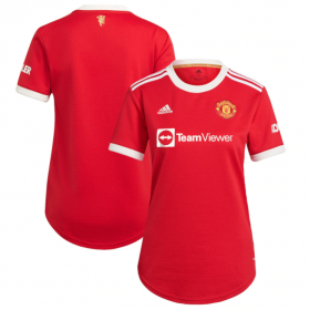 Manchester United Women's  Home  Jersey 21/22 (Customizable)