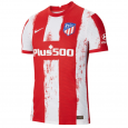 Atletico Madrid Player Version Home  Jersey 21/22 (Customizable)