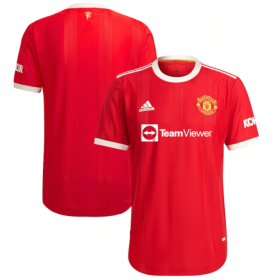 Manchester United Home  Player Version Jersey 21/22 (Customizable)