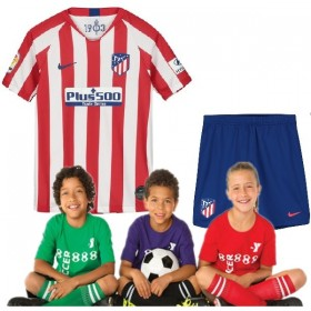Kid's  Atletico Madrid Home Suit 19/20 (Customizable)