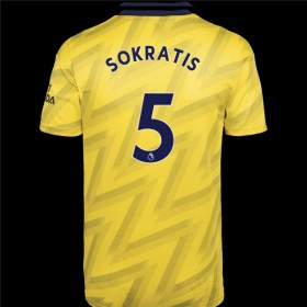 Arsenal Away Jersey 19/20 5#Sokratis