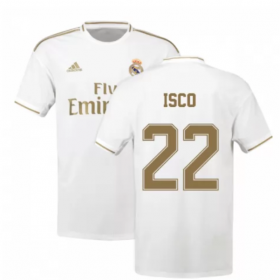 Real Madrid Home Jersey 19/20 #22 ISCO