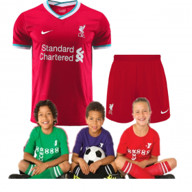 Kid's Liverpool Home Suit 20/21(Customizable)